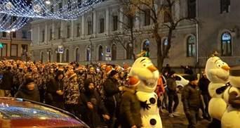 У Києві влаштували ходу до річниці народження Степана Бандери: фото і відео
