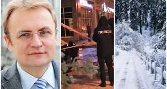 Главные новости 3 января: Садовый идет в президенты, убийство в центре Киева, Украину заснежило