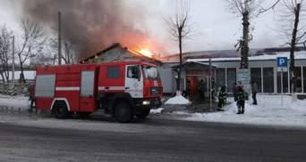 Серьезный пожар произошел в Краматорске: фото и видео с места события
