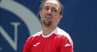Долгополов продолжил падение в рейтинге ATP