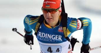Лідерка збірної України з біатлону пропустить першу гонку в Оберхофі