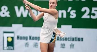 Українська тенісистка Лопатецька впевнено крокує до другого титулу за 2 тижні