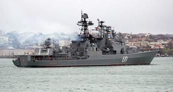 Боевой корабль РФ прибыл в оккупированный Севастополь: в России объяснили цель
