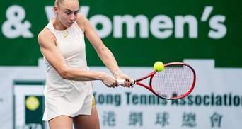 Украинка Лопатецкая вторую неделю подряд сыграет в полуфинале престижного турнира