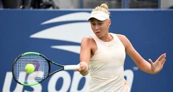 Юна українська тенісистка пробилася у фінал тенісного турніру в Китаї