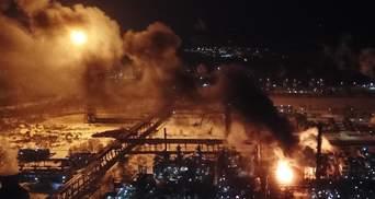 Пожар на химзаводе в Калуше: последняя информация