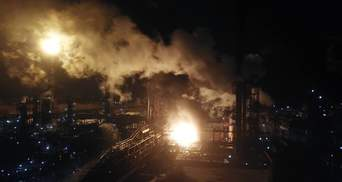 Пожар на заводе по производству химикатов в Калуше: полиция назвала причину возгорания
