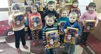"""""""Укрлендфарминг"""" Бахматюка подарил детям десятки тысяч сладких подарков"""