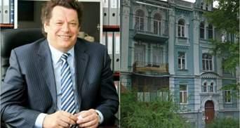 Тесть Насирова хочет построить паркинг на месте исторического дома в центре Киева