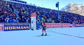 Біатлон: брати Бьо виграли спринт у Рупольдінгу, Підручний в топ-20