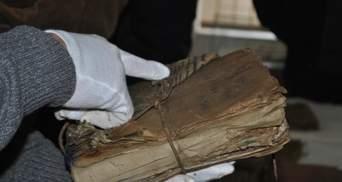 На Прикарпатье нашли уникальные документы УПА и шарж Шухевича: фото