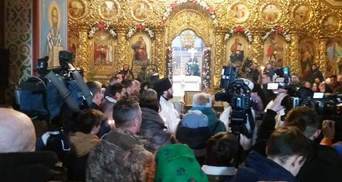 В Киеве проходит панихида по погибшим защитникам Донецкого аэропорта: фото