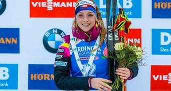 Биатлон: Меркушина – 35-а в Антхольце, чешка Давыдова неожиданно выиграла спринт