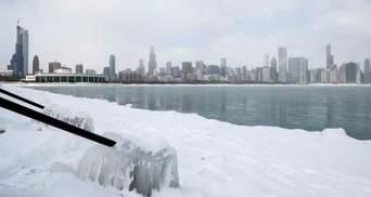 Європа та США потерпають від сильних снігопадів: фото, відео