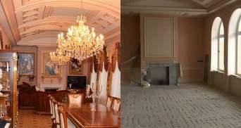Как выглядят имения Пшонки и Януковича через 5 лет: потрясающие фото и видеосравнения