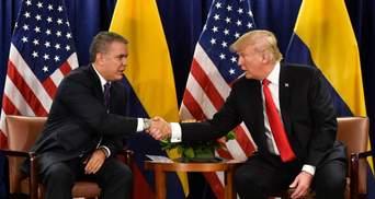 Президенти США та Колумбії зустрінуться у лютому для обговорення ситуації у Венесуелі