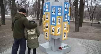 Пам'ять загиблих героїв у боях за Дебальцеве вшанували у Запоріжжі: фото та відео