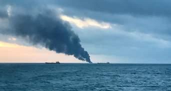 Пожежа у Керченській протоці: два танкери палають вже 22-й день