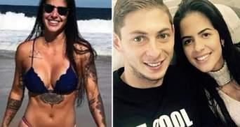 Дівчина Еміліано Сали розкрила свою особистість після загибелі футболіста: фото