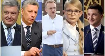 Вибори президента України-2019: якими статками володіють кандидати