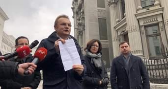 """Порошенко шантажировал Садового мусором, – расследование проекта """"Деньги"""""""