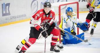 """Хоккей: """"Донбасс"""" победил """"Днепр"""" и вышел на первое место в турнирной таблице"""