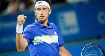 Сергей Стаховский впервые с 2015 года пробился в четвертьфинал турнира ATP