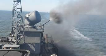 Россия выпустила в Черное море пострелять новый корабль