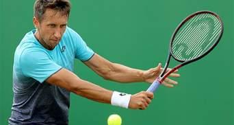 Український тенісист Стаховський розчулив публіку на турнірі у Франції: відео