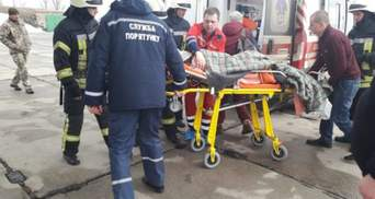 В Украине впервые эвакуировали больного ребенка спецсамолетом: видео