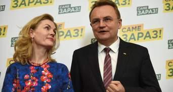 Садовый отозвал свою кандидатуру и поддержал Гриценко на выборах президента