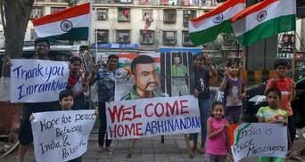 Влада Пакистану відпустила з полону пілота індійського винищувача