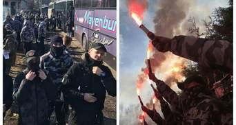 Сотни активистов пикетируют дом Гладковского под Киевом: фото и видео