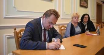 Садовый подал заявление в ЦИК об отзыве своей кандидатуры с президентских выборов