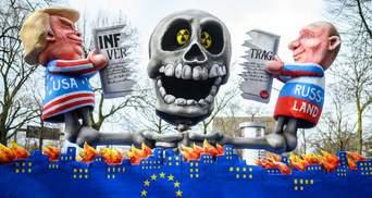 Голый Трамп, Путин и Ким Чен Ын: в Европе на карнавалах смеются над политиками