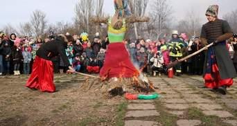 Возрождение традиций: в Запорожье отпраздновали казацкую масленицу