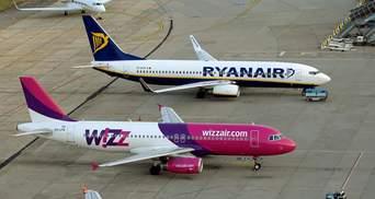 Лоукосты конкурируют за украинцев: Ryanair продублирует популярный маршрут Wizz Air в Польшу