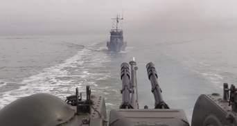 В Азовском море прошли зрелищные тренировки с участием кораблей и авиации ООС: видео