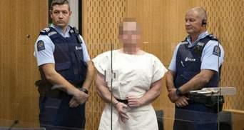 Арестовали главного подозреваемого в теракте в Новой Зеландии