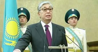 Токаєв вступив на посаду президента Казахстану