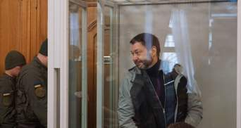 В Киеве начался суд по делу против журналиста Вышинского, которого обвиняют в госизмене
