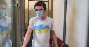 Украинского политзаключенного Павла Гриба приговорили в России к 6 годам тюрьмы