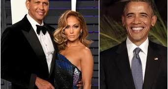 Барак Обама отправил Джей Ло и Родригесу поздравления с помолвкой и дал семейное напутствие