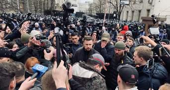"""""""Национальный Корпус"""" передал президенту свои требования"""