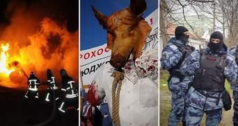 """Головні новини 27 березня: вибухи у Кропивницькому, акції """"Нацкорпусу"""" та свавілля ФСБ у Криму"""
