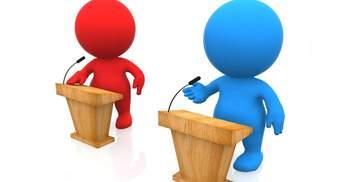 Як проходитимуть дебати між кандидатами у президенти: відповідь Аласанії