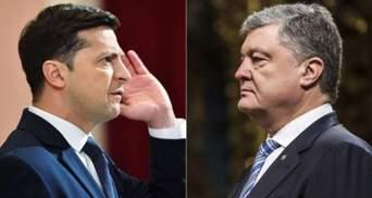 """Зеленський та Порошенко: чи відбудуться дебати на НСК """"Олімпійський"""""""