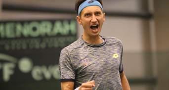 Стаховский во второй раз в сезоне вышел в четвертьфинал турнира серии ATP