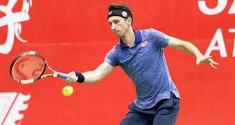 Теннисист Стаховский поборется за путевку в полуфинал на турнире