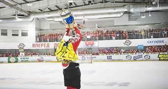 """Як """"Донбас"""" нагороджували за перемогу у чемпіонаті України з хокею: фото та відео"""